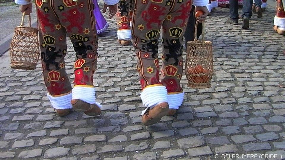 carnaval msg 2016 le pas des gilles sur les pavés